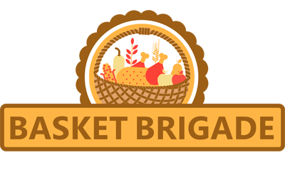 The Basket Brigade of Suburban Chicago is a 501 (c)(3) Logo