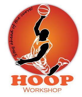 Hoop Workshop Basketball Logo