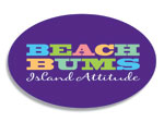 Beach Bums Island Attitude Logo