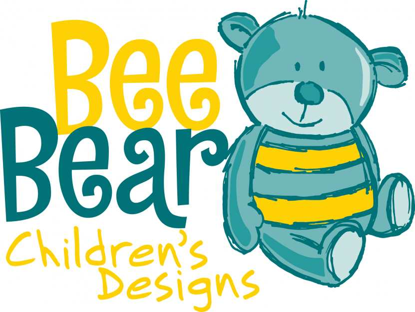 Bee Bear Children's Designs Logo