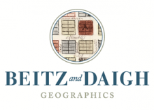 Beitz and Daigh Geographics, Inc. Logo