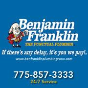 Benjamin Franklin Plumbing Reno Logo