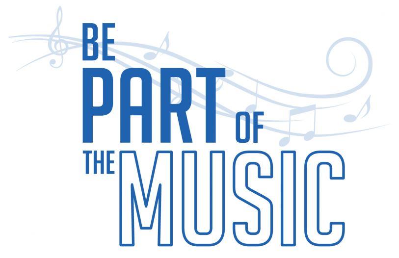 Bepartofthemusic Logo
