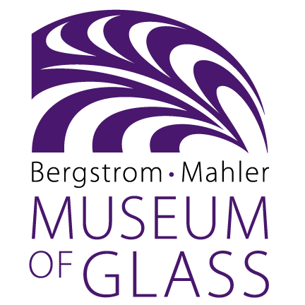 Bergstrom-Mahler Museum of Glass Logo