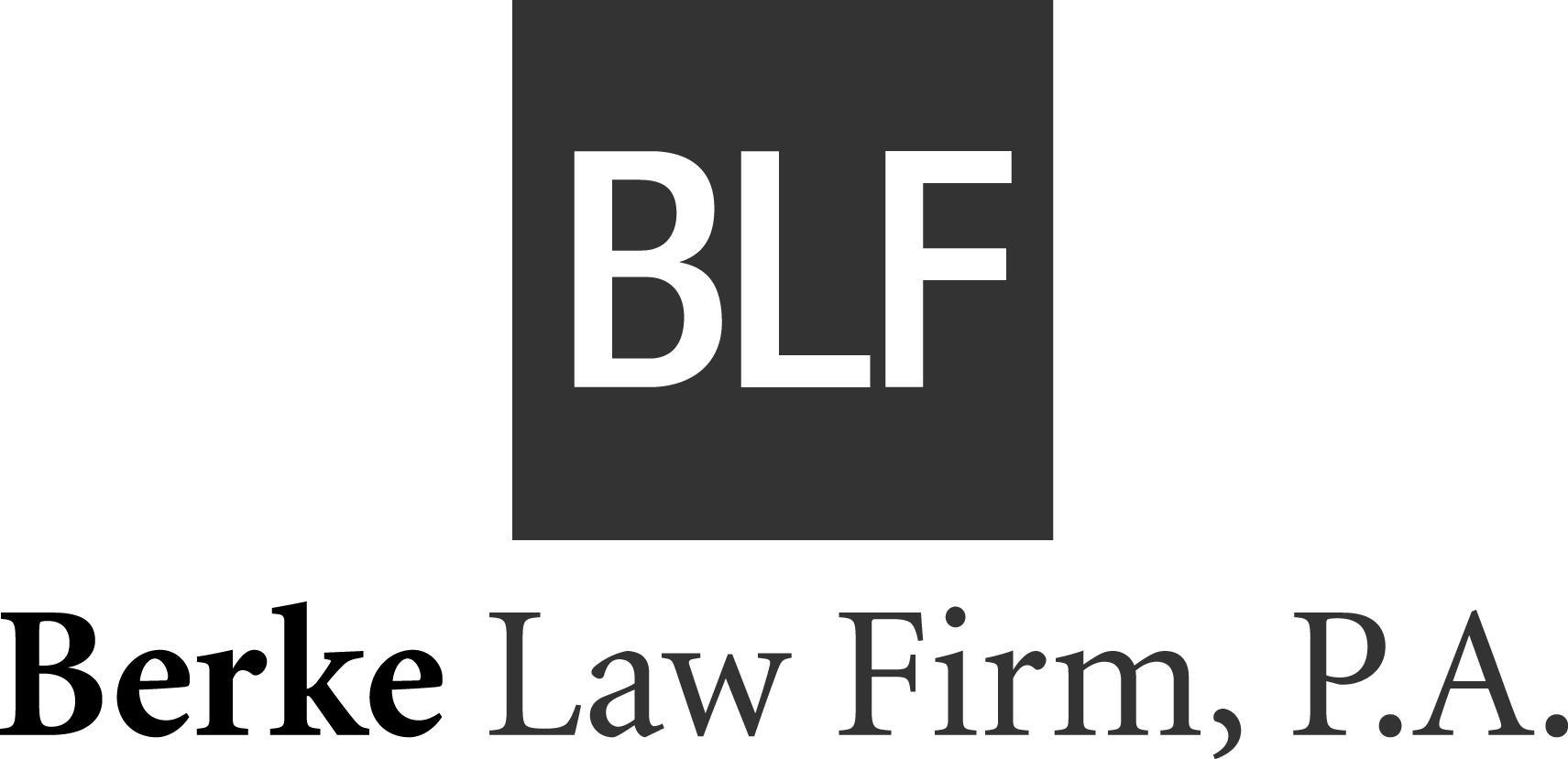 Berke Law Firm P.A. Logo