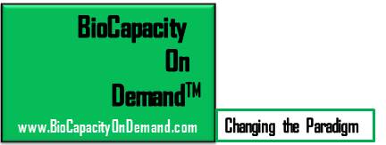 BioCapacity On Demand Logo