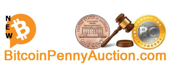 BitcoinPennyAuction.com Logo