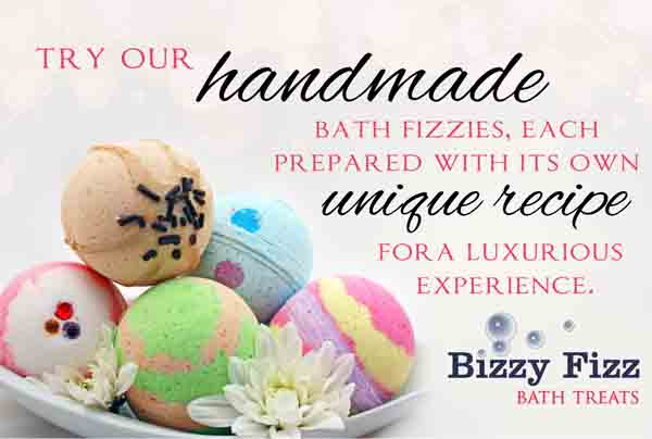 Bizzy Fizz Bath Treats Logo