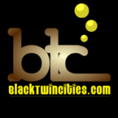 Black Twin Cities Logo
