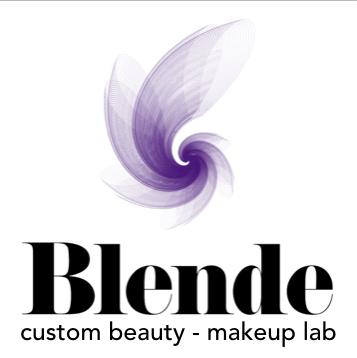 Blende custom beauty/makeup lab Logo