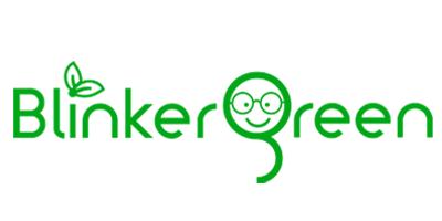 BlinkerGreen Computer Eyewear Logo