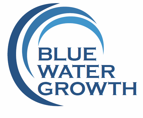 Blue Water Growth Logo