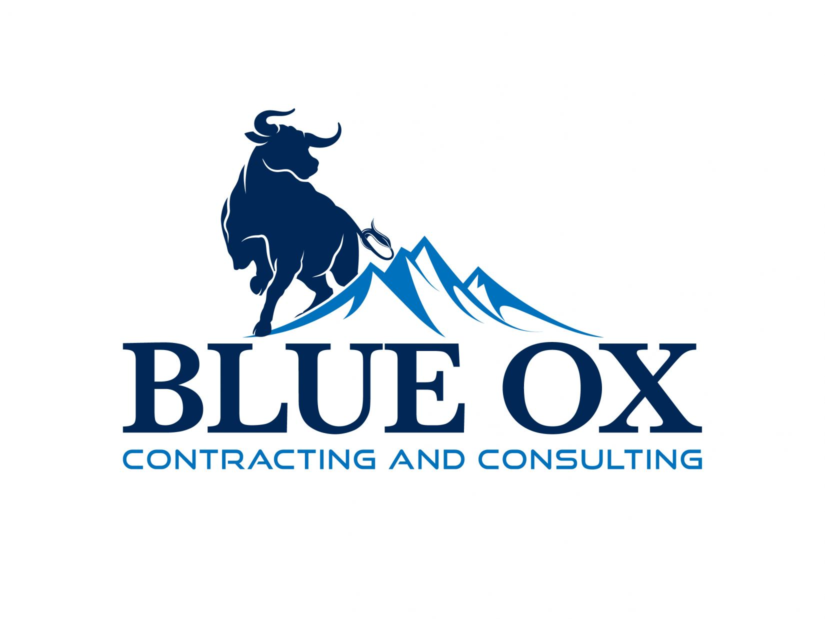 Blue Ox Contracting and Consulting Logo