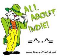 Bounce The Cat Productions Logo