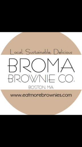 Broma Brownie Co. Logo