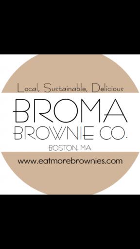 Broma Brownie Co. Logo