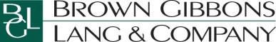 Brown Gibbons Lang & Co. Logo