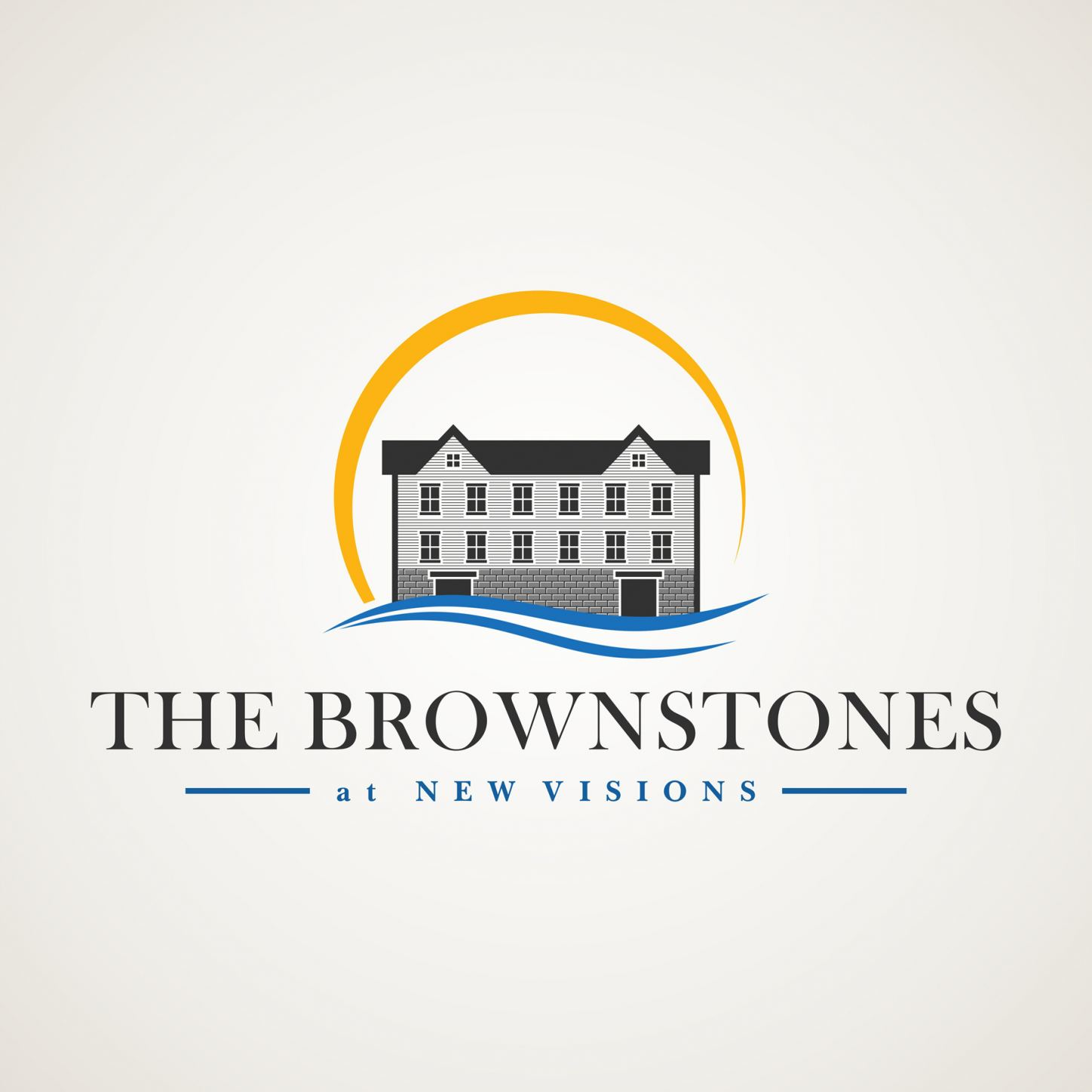 The Brownstones at New Visions Logo