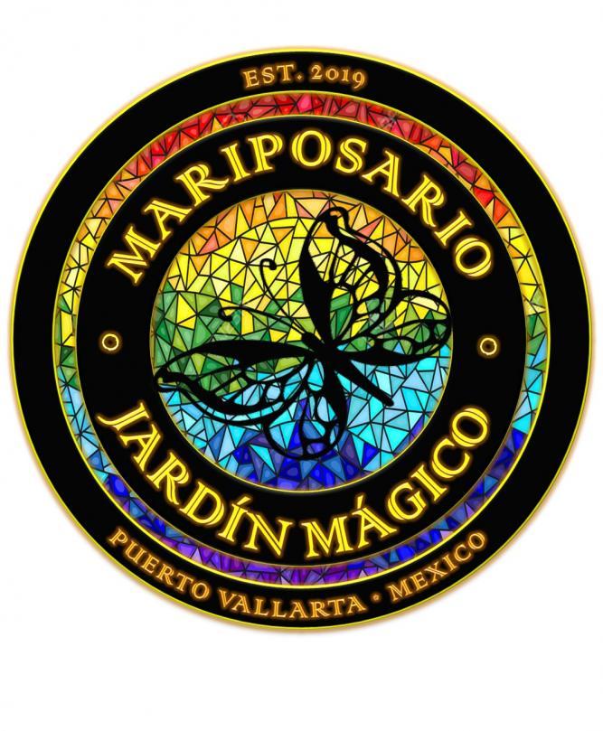 Mariposario Jardin Magico Logo