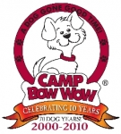 Camp Bow Wow Doggy Day and Overnight Camps Logo