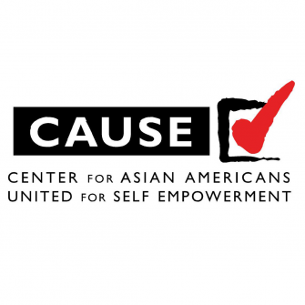 CAUSE Center for Asian Americans United for Self Logo