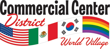 The Commercial Center District Logo