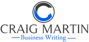 Craig Martin Business Writing Logo