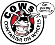 COWs - Container on Wheels Mobile Storage Logo