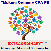 Advantage Montreal Seminars Inc. Logo