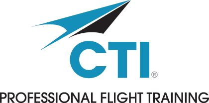 CTI Professional Flight Training Logo