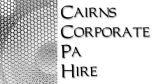 Cairns Corporate PA Hire Logo