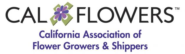 CalFlowers - CA Assn of Flower Growers & Shippers Logo