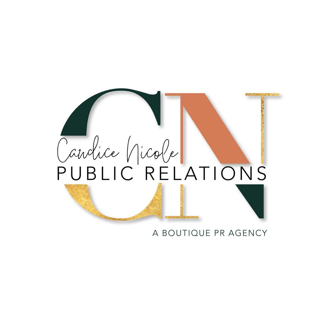 Candice Nicole Public Relations Logo
