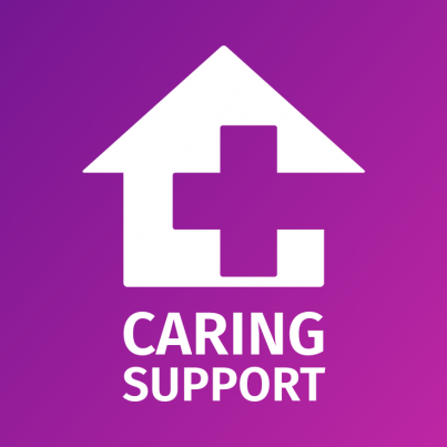Caring Support Logo