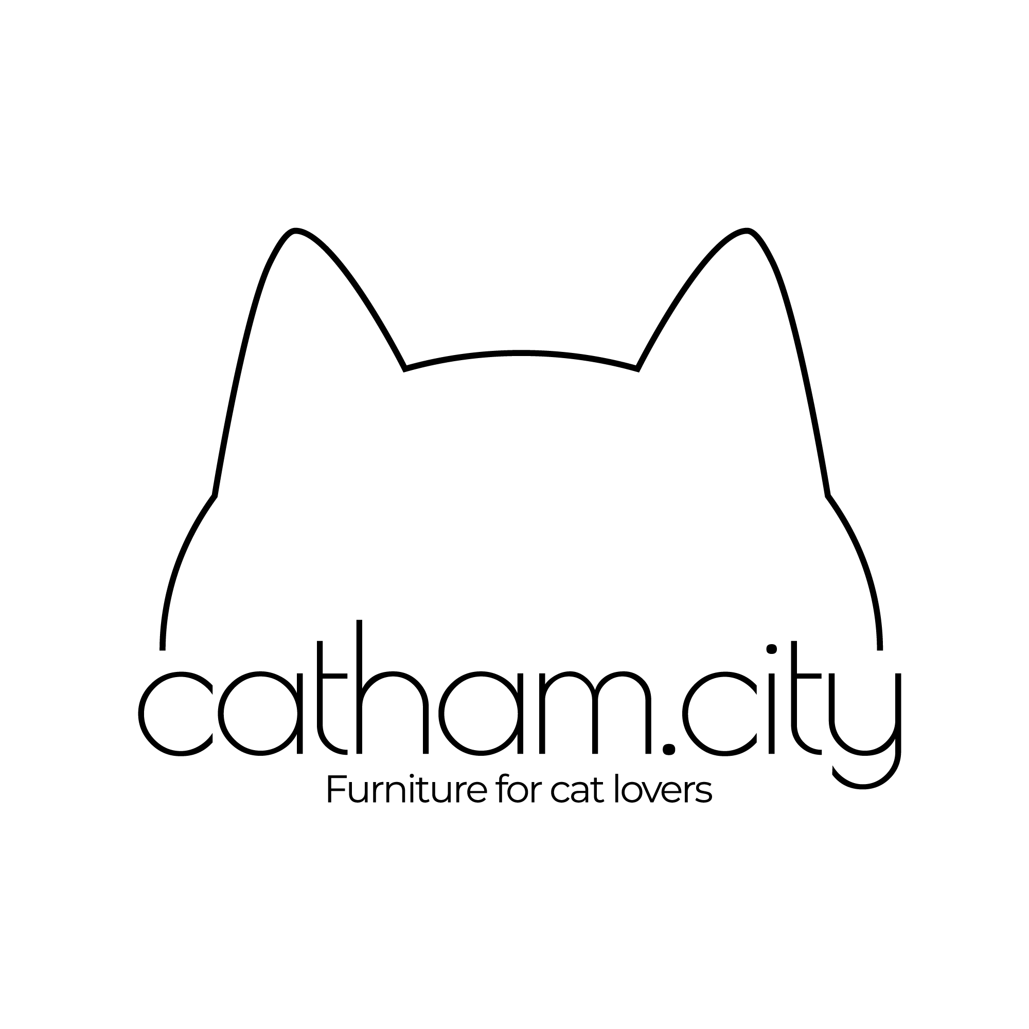 Catham.City Furniture for Cat Lovers Logo