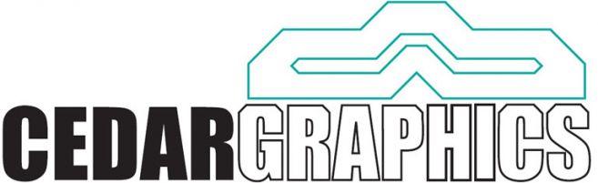 Cedar Graphics Inc. Logo
