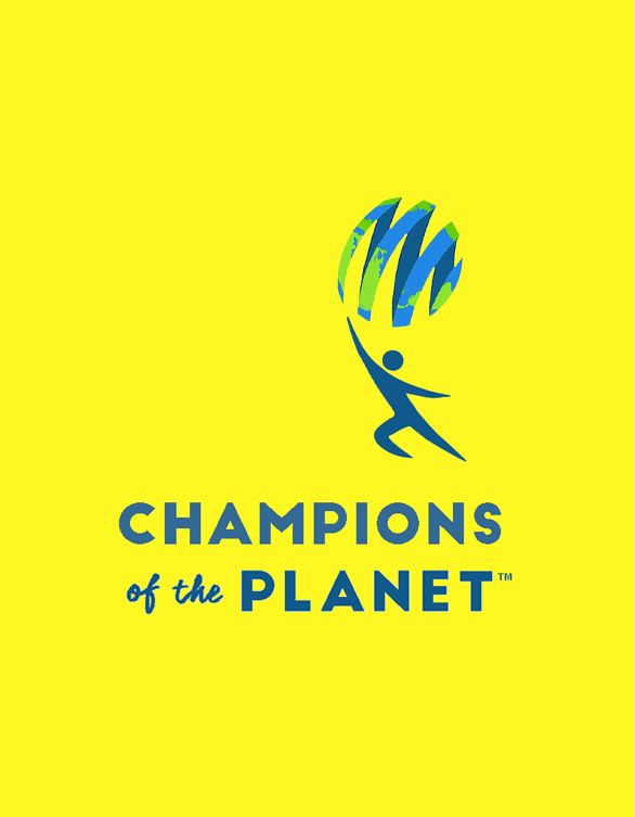 Champions Of The Planet Logo