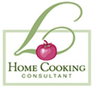 Home Cooking Consultant Personal Chef Service Logo