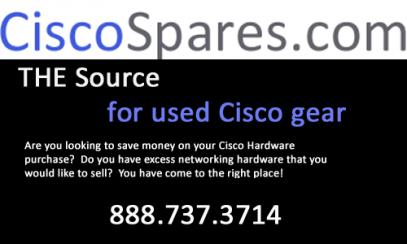 CiscoSpares Logo