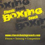 Classic Boxing Coach Logo