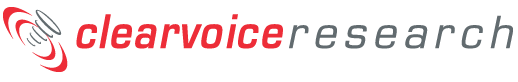 ClearVoice Research Logo
