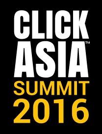 Click Asia Summit 2016 Logo