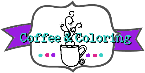 Coffee and Coloring Logo