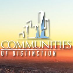 Communities of Distinction TV Logo