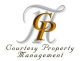 Courtesy Property Management Logo
