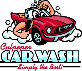 Culpeper Car Wash Logo