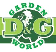 D&G Garden World Logo