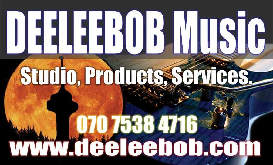DEELEEBOB Music Inc. Logo