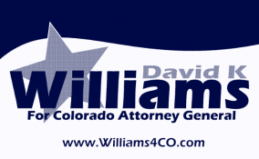 David K Williams for CO Atty General Logo