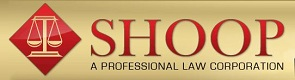 Shoop | A Professional Law Corporation Logo